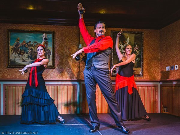 Columbia Restaurant Dance Troupe at Columbia Restaurant in Ybor City, Tampa Bay, Florida