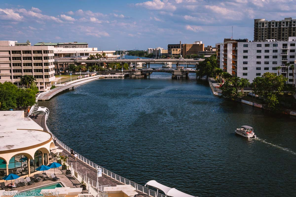 Hillsborough River in Downtown Tampa Bay Florida