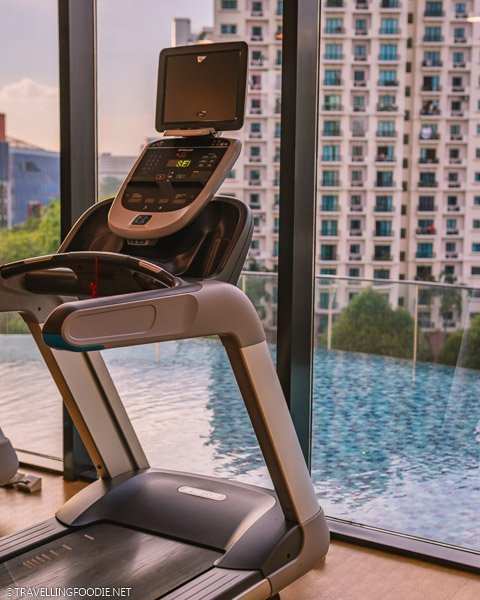 Gym Views at Park Hotel Alexandra in Singapore