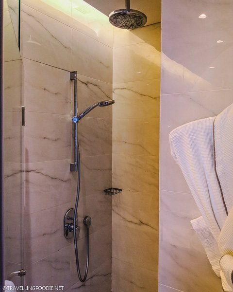Crystal Club Room Shower at Park Hotel Alexandra in Singapore