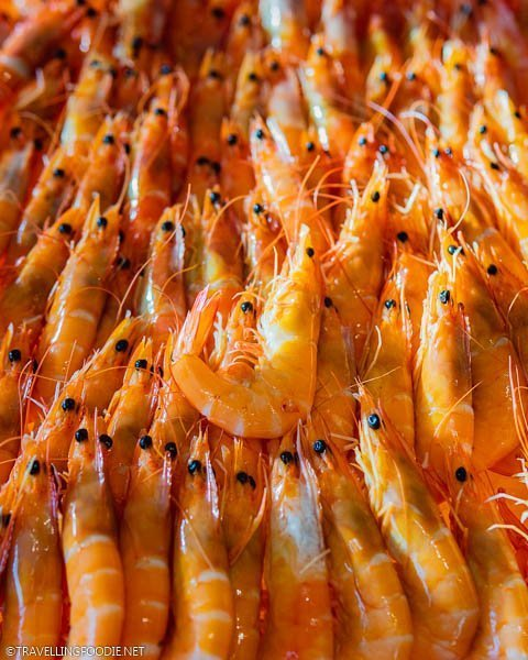 Shrimps from The Carvery at Park Hotel Alexandra in Singapore