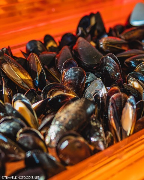 Mussels from The Carvery at Park Hotel Alexandra in Singapore