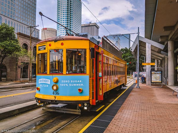 TECO Historic Streetcar in Tampa Bay, Florida
