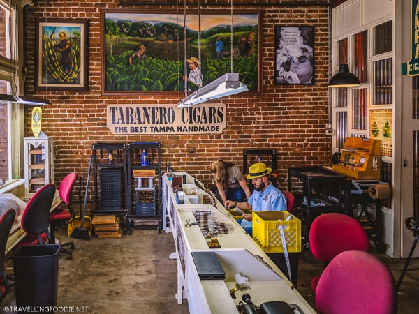 Tabanero Cigars in Ybor City, Tampa Bay, Florida