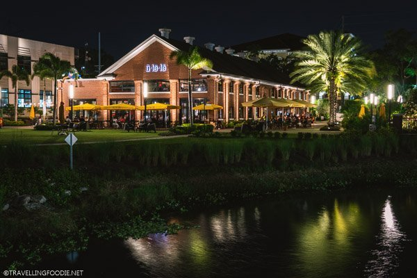 Ulele at Night along the Tampa Riverwalk, Florida