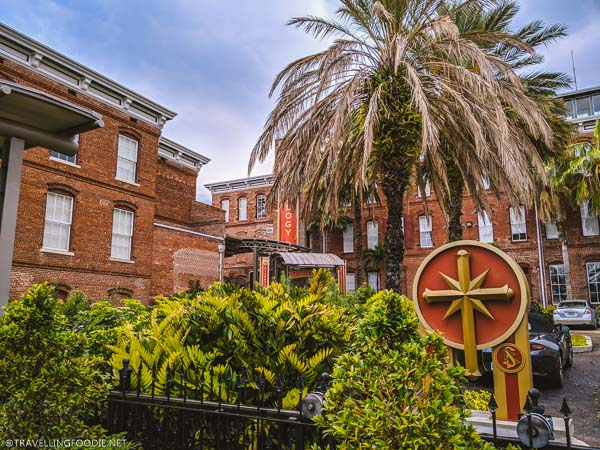 Ybor Cigar Factory and Church of Scientology in Ybor City, Tampa Bay, Florida
