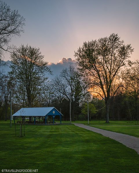 Strathroy's Alexandra Park in Middlesex County, Ontario