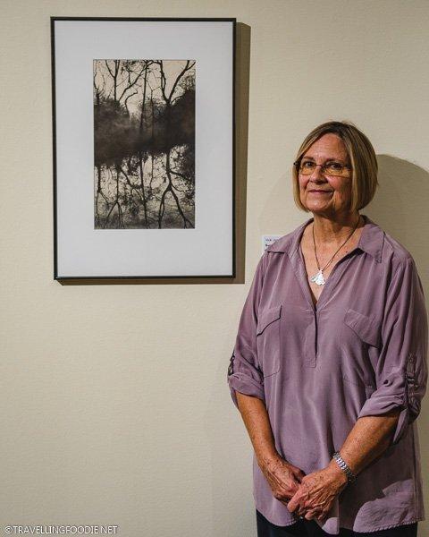 Vicki Jones at Appleton Museum in Ocala, Florida