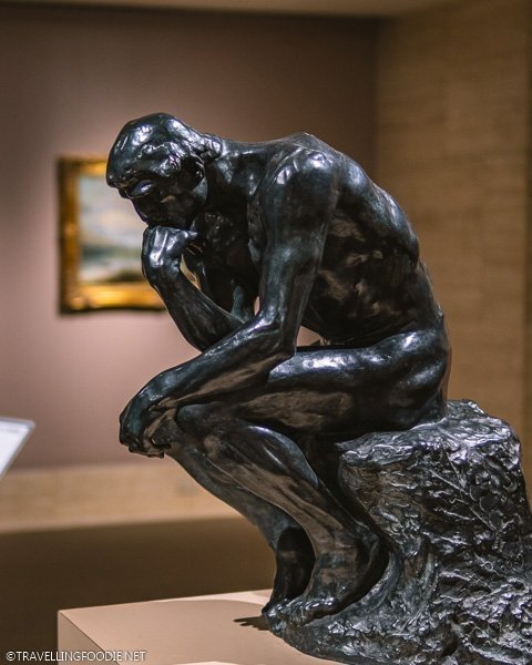 The Thinker at Appleton Museum of Art in Ocala, Florida