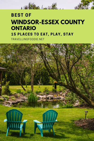 Best of Windsor-Essex County, Ontario with 15 Best Things To Do, Where To Eat and Stay incl. Iron Kettle Bed & Breakfast, Armando's Pizza, Point Pelee National Park, Jack's Gastropub, Caesars Windsor.