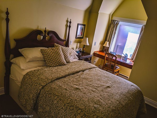 Prince of Wales Bedroom at Clock Tower Inn in Strathroy, Ontario