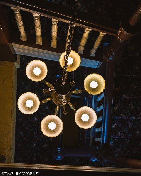 Staircase at Clock Tower Inn