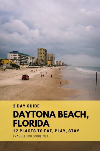Daytona Beach, Florida: 2 Day Guide with 12 Best Things To Do, Restaurants and Accommodation including Daytona International Speedway, Hard Rock Hotel, Crabby Joe's, Angell & Phelps Chocolate Factory, Daytona Parasail, Ponce Inlet Lighthouse and Rose Villa Restaurant.
