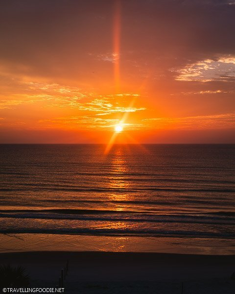 Sunrise at Daytona Beach, Florida