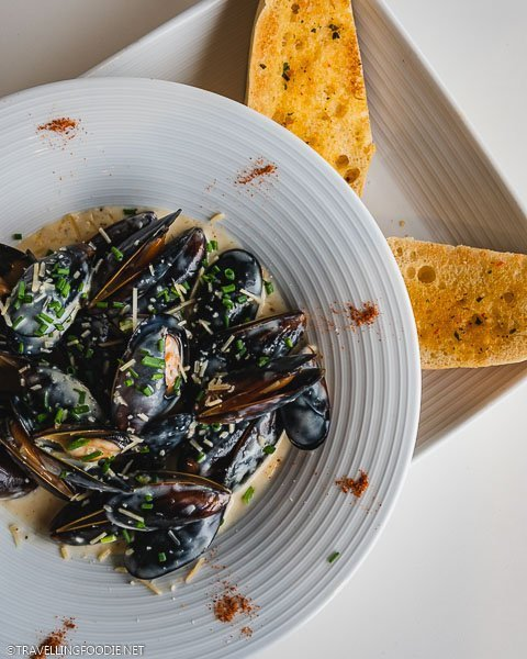 Mussels at Sessions in Hard Rock Hotel Daytona Beach
