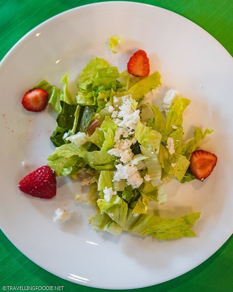 Starberry Salad at Iron Kettle Cooking Series at Lee and Maria's in Kingsville, Ontario