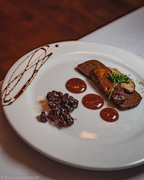 Seared Foie Gras at La Cuisine Restaurant in Ocala, Florida