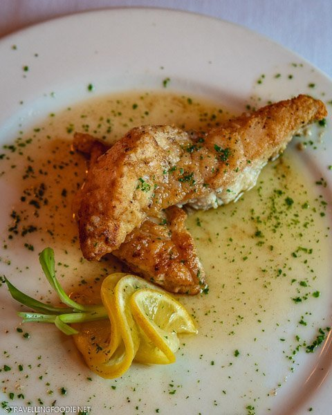 Grouper Meuniere at La Cuisine Restaurant in Ocala, Florida
