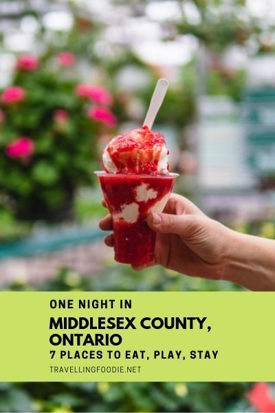 One Night in Middlesex County with 7 Things To Do, Where To Eat and Stay: Fat Olive Restaurant, Heeman's, Annies Chocolates, Picard's Peanuts, Clock Tower Inn and Bistro, Alexandra Park and Car