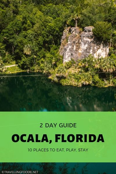How to spend two days in Ocala, Florida including 10 best things to do, restaurants and accommodations: Big Lee's BBQ, Silver Springs State Park, SKY Fine Dining, Appleton Museum, Canyons Zip Line.