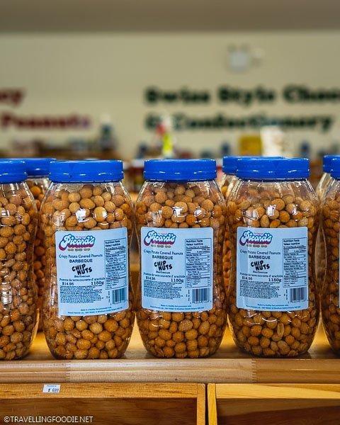 Crispy Potato Covered Peanuts at Picard's Peanuts in Arva, Ontario