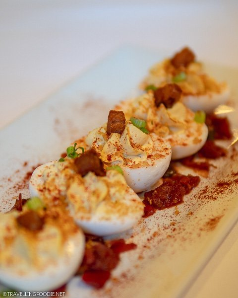 Deviled Eggs at Rose Villa Restaurant in Daytona Beach, Florida