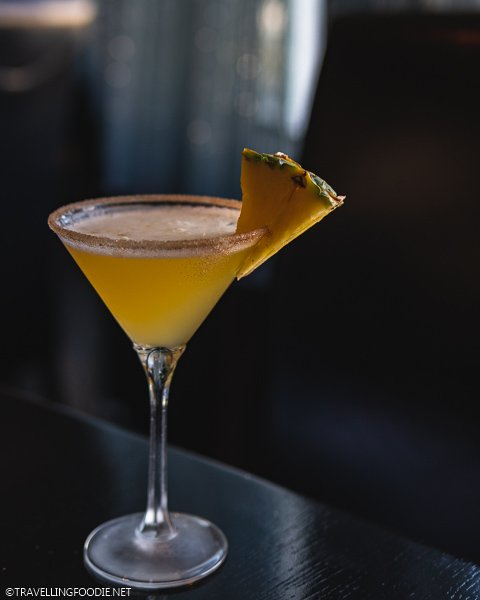 Roasted Pineapple Cocktail at SKY Fine Dining in Holiday Inn Express Ocala, Florida