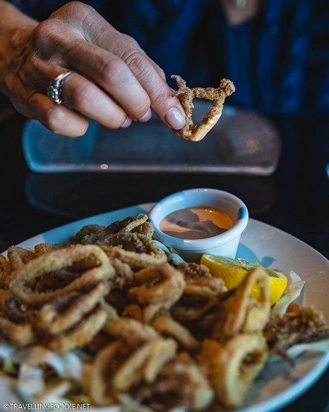 Calamari at SKY Fine Dining in Ocala, Florida