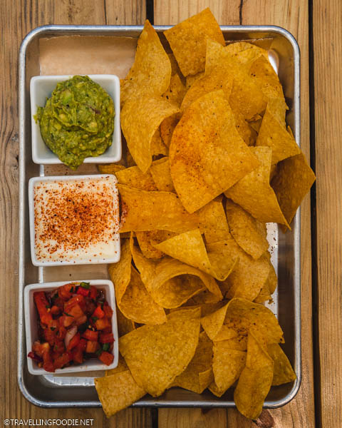 Chips at Sayulita Taqueria in Ocala, Florida