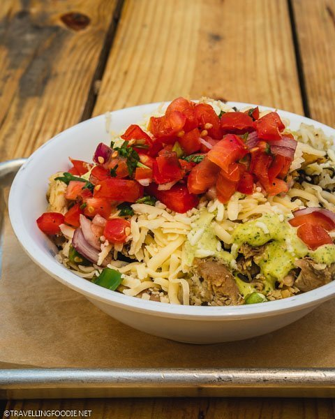 Burrito Bowl at Sayulita Taqueria in Ocala, Florida