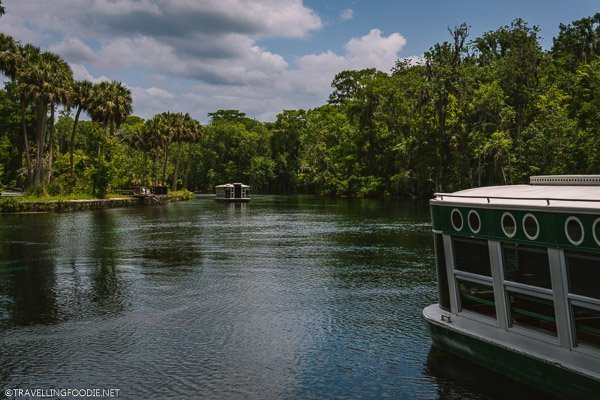 Glass Bottom Boats at Silver Springs State Park in Ocala, Marion County, Florida