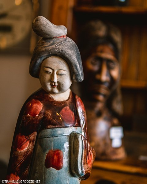 Chinese lady figurine at Timeless Treasures in Windsor, Ontario