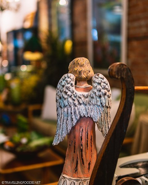 Angel Figurine at Timeless Treasures in Windsor, Ontario