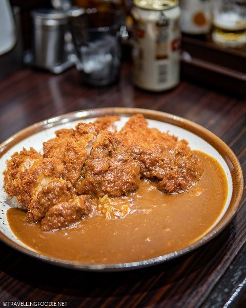 Japanese Curry at CoCo Ichibanya in Tokyo, Japan