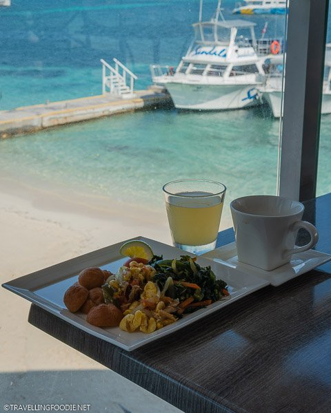 Jamaican Breakfast at Cucina Romana in Sandals Montego Bay, Jamaica