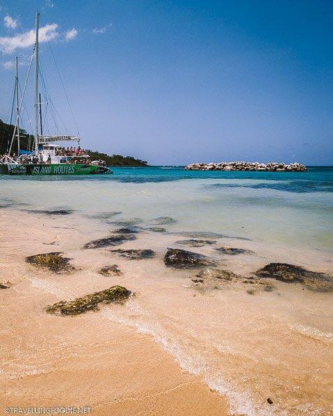 Dunn's River Falls Beach in Ocho Rios, Jamaica
