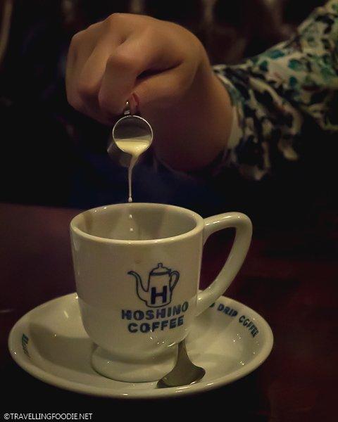 Drip Coffee at Hoshino Coffee in Tokyo, Japan