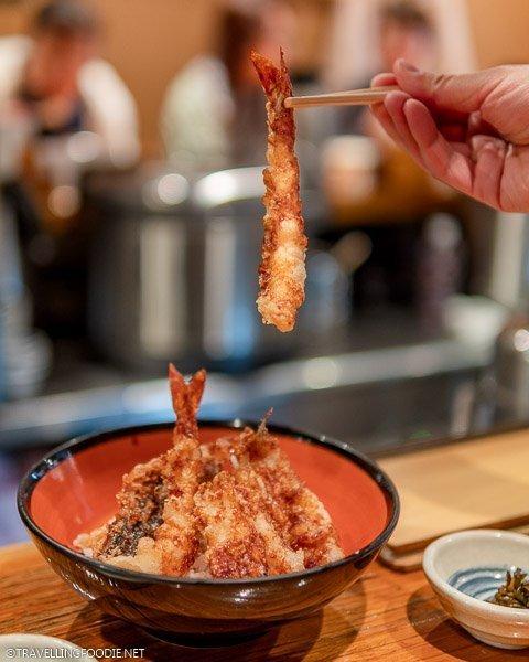 Dandan'ya Shinjuku Kushi-tempura in Tokyo, Japan