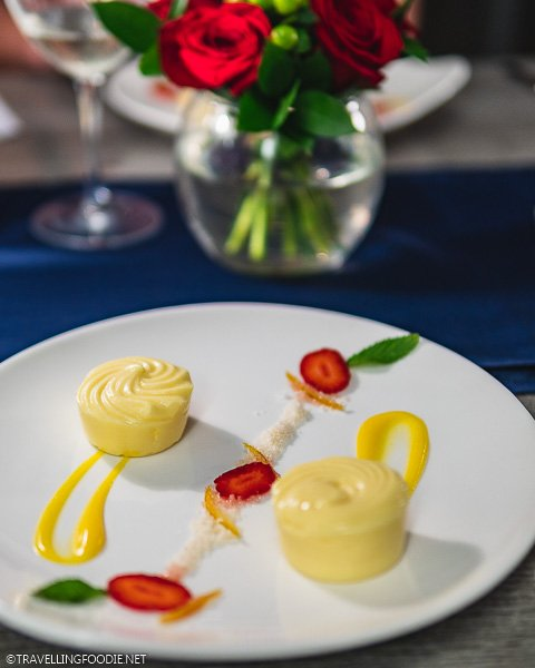 Dessert from Bayside Restaurant in Sandals Montego Bay