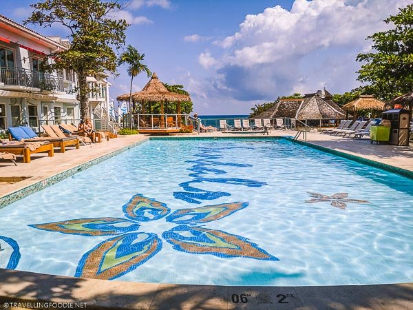 Swimming Pool at Sandals Montego Bay in Jamaica