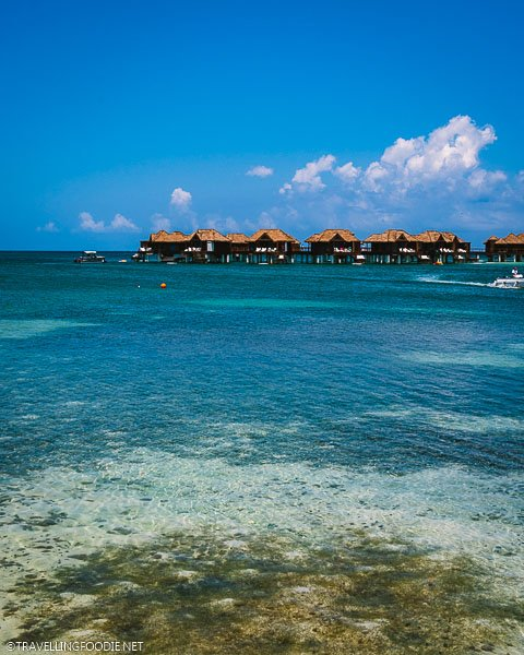 Overwater Bungalos at Sandals Royal Caribbean in Montego Bay, Jamaica