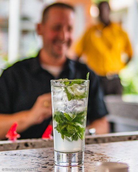 Moshi Mojito at Soy Sushi in Sandals Montego Bay