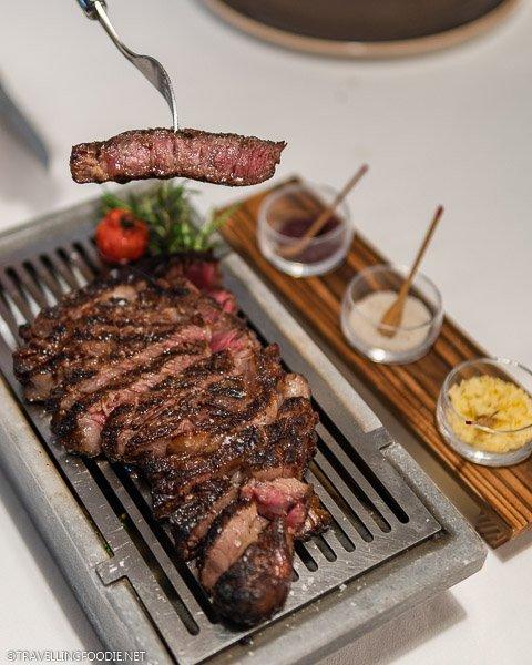 Koji Beef at The Steakhouse at ANA InterContinental Tokyo Japan