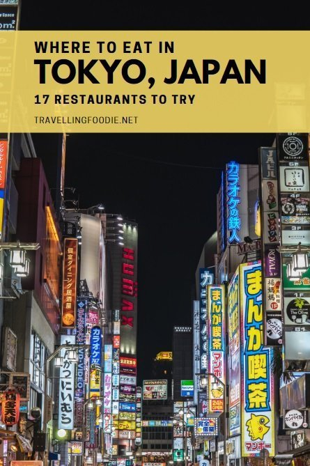 Where To Eat in Tokyo, Japan: 17 Restaurants To Try including Sushizanmai, CoCo Ichibanya, Hoshino Coffee, Ichiran Ramen, Teppan Baby, and more.
