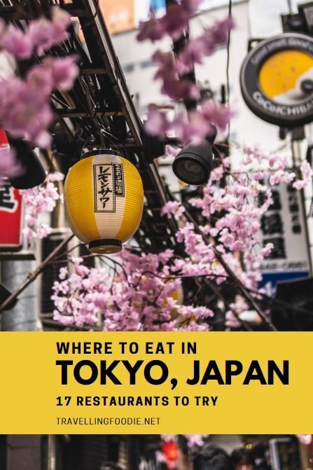 17 Places To Eat in Tokyo, Japan including best restaurants, izakaya, ramen, cafe, sushi, tempura and more.