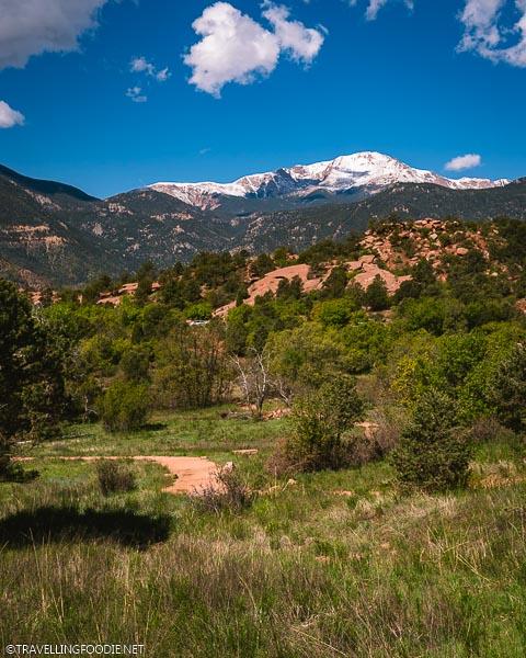 Rocky Mountain Views at Garden of the Gods Park