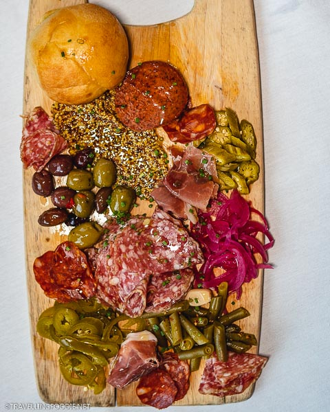 Cured Meat and Cheese Board at Aurum Food and Wine