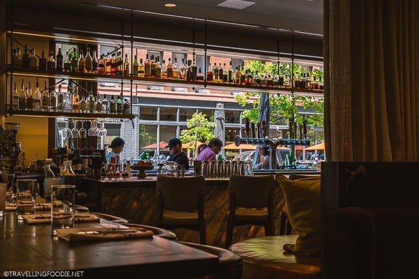 Outdoor Bar at Avelina in Denver