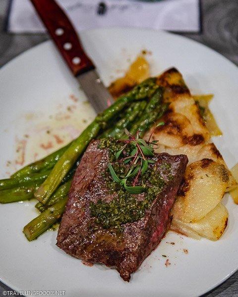 Flat Iron Steak at Colorado Craft Social in Colorado Springs