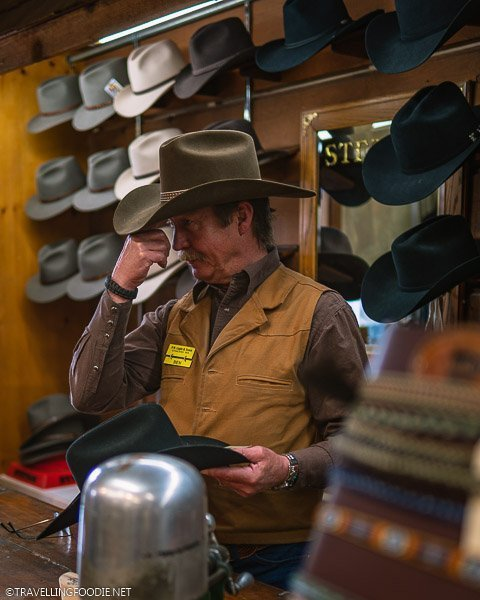 Cowboy Owner at FM Light and Sons in Steamboat Springs